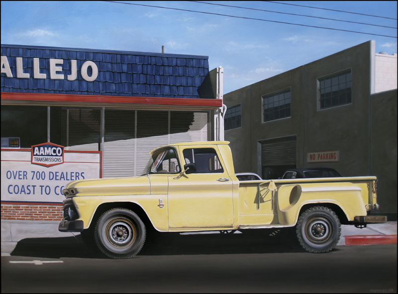YELLOW TRUCK | 30x40 | OIL ON CANVAS | 2008